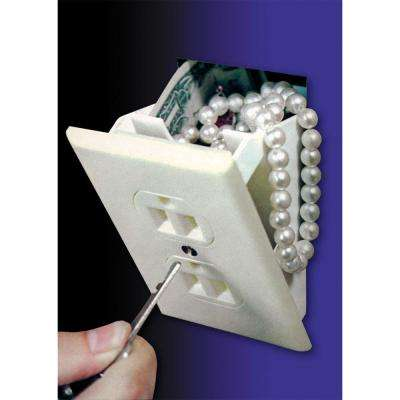 0.025 cu. ft. Wall Outlet Diversion Safe