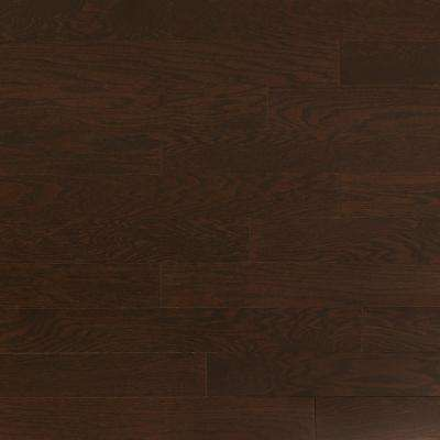 Take Home Sample - Oak Obsidian Engineered Click Hardwood Flooring - 5 in. x 7 in.