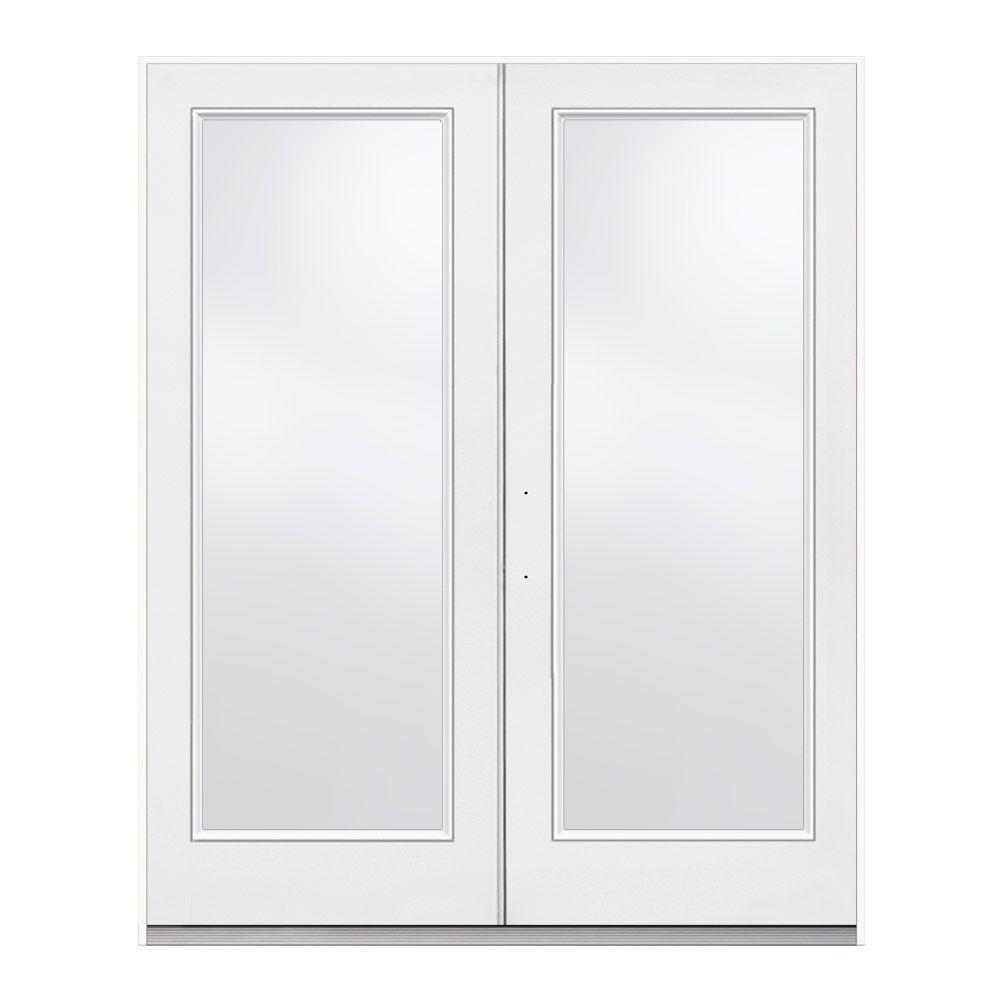 jeld wen 60 in x 80 in primed steel right hand inswing - 60 Patio Door