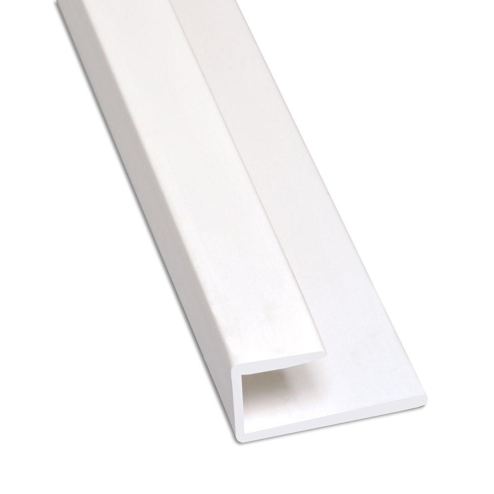 Glasliner 10 Ft Frp End Cap Moulding White 9460xa The