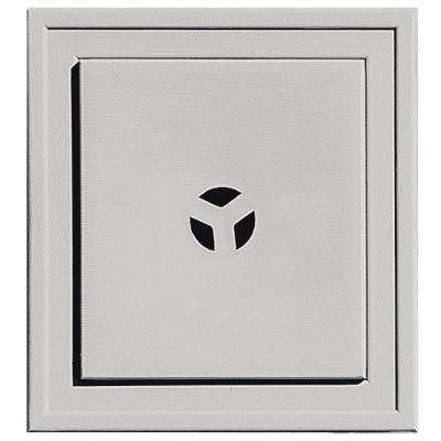 7.375 in. x 7.375 in. #030 Paintable Slim Line Mounting Block