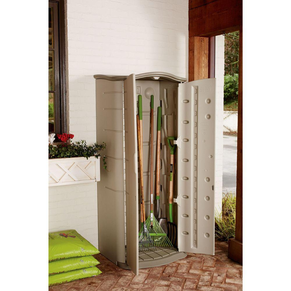 Ft X 2 Vertical Storage Shed