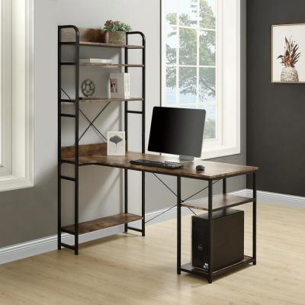 Hutch Desks Home Office Furniture The Home Depot