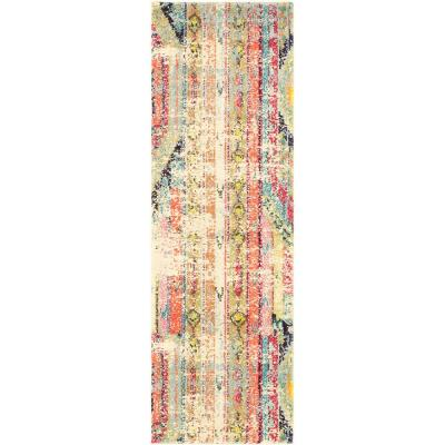 Sedona Yosemite Multi 2 ft. x 6 ft. Runner Rug