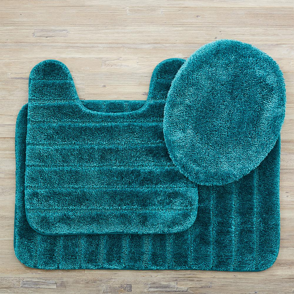 Mohawk Home Veranda Bath Rug Teal Set