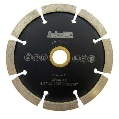 4.5 in. Crack Chaser Diamond Blade for Concrete Repair