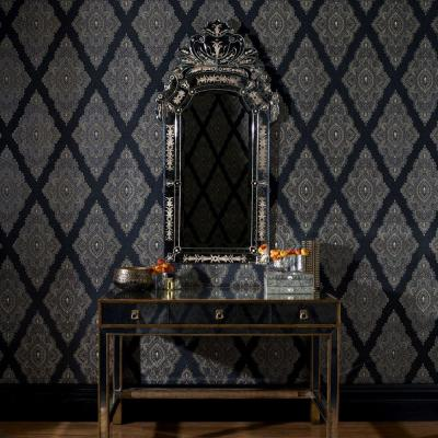 Jewel Black Removable Wallpaper