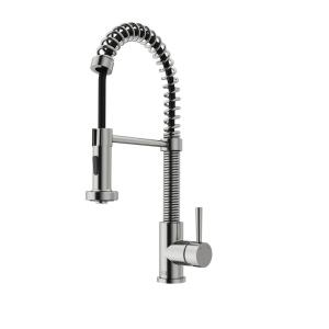 CleanFLO Matisse Single-Handle Pull-Down Sprayer Kitchen Faucet in ...
