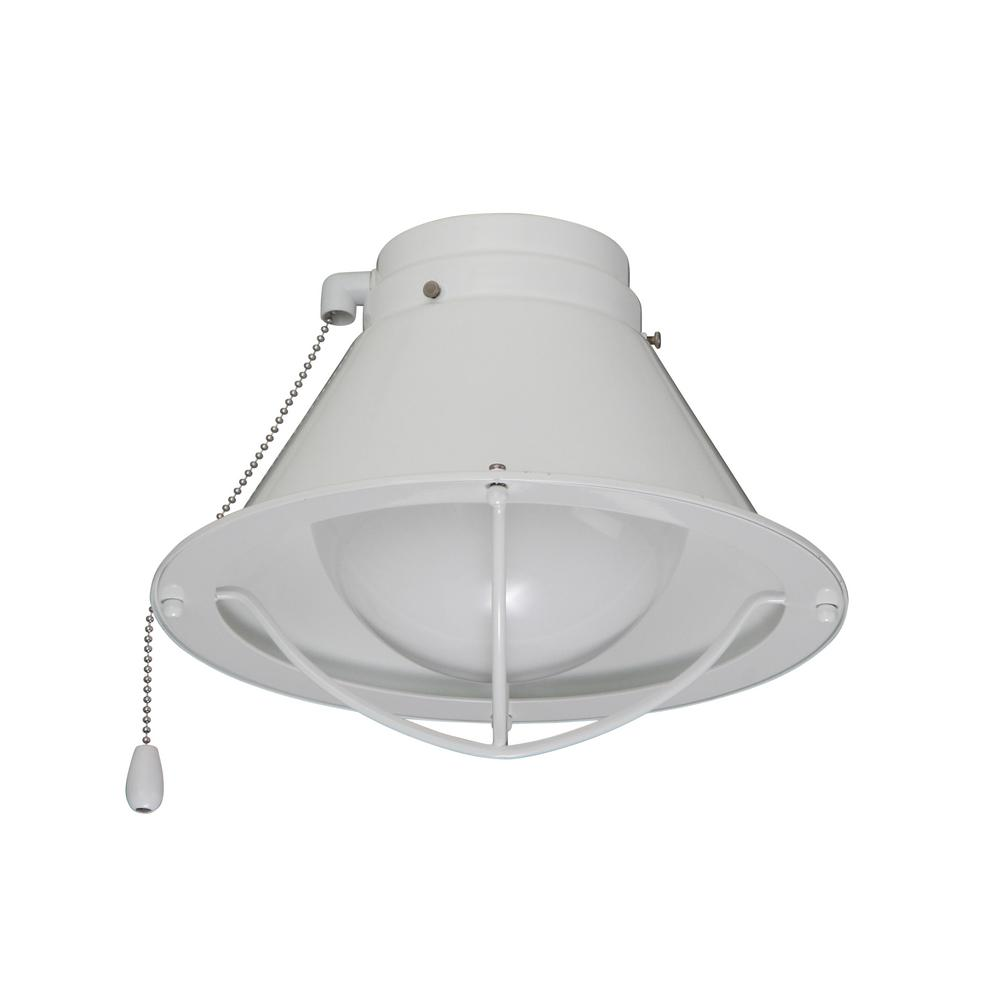 Seaside Array Appliance White Ceiling Fan Light Kit