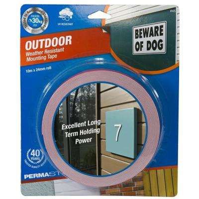 32.8 ft. x 0.94 in. Roll Outdoor Weather Resistant Mounting Tape