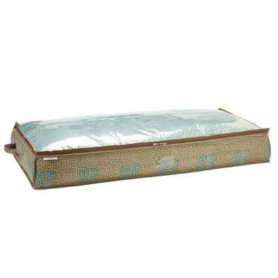 Under-the-Bed Polypropylene Storage Bag in Cameo Key Taupe