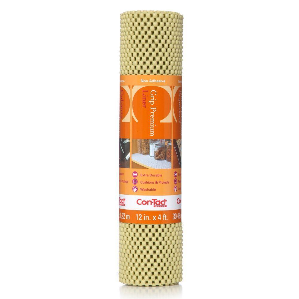 Con-Tact Grip Premium Lemongrass Shelf/Drawer Liner 04F-C6L89-06