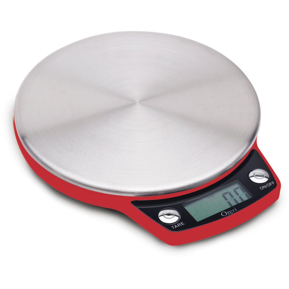 Ozeri Ultra Thin Professional Digital Kitchen Food Scale in Elegant