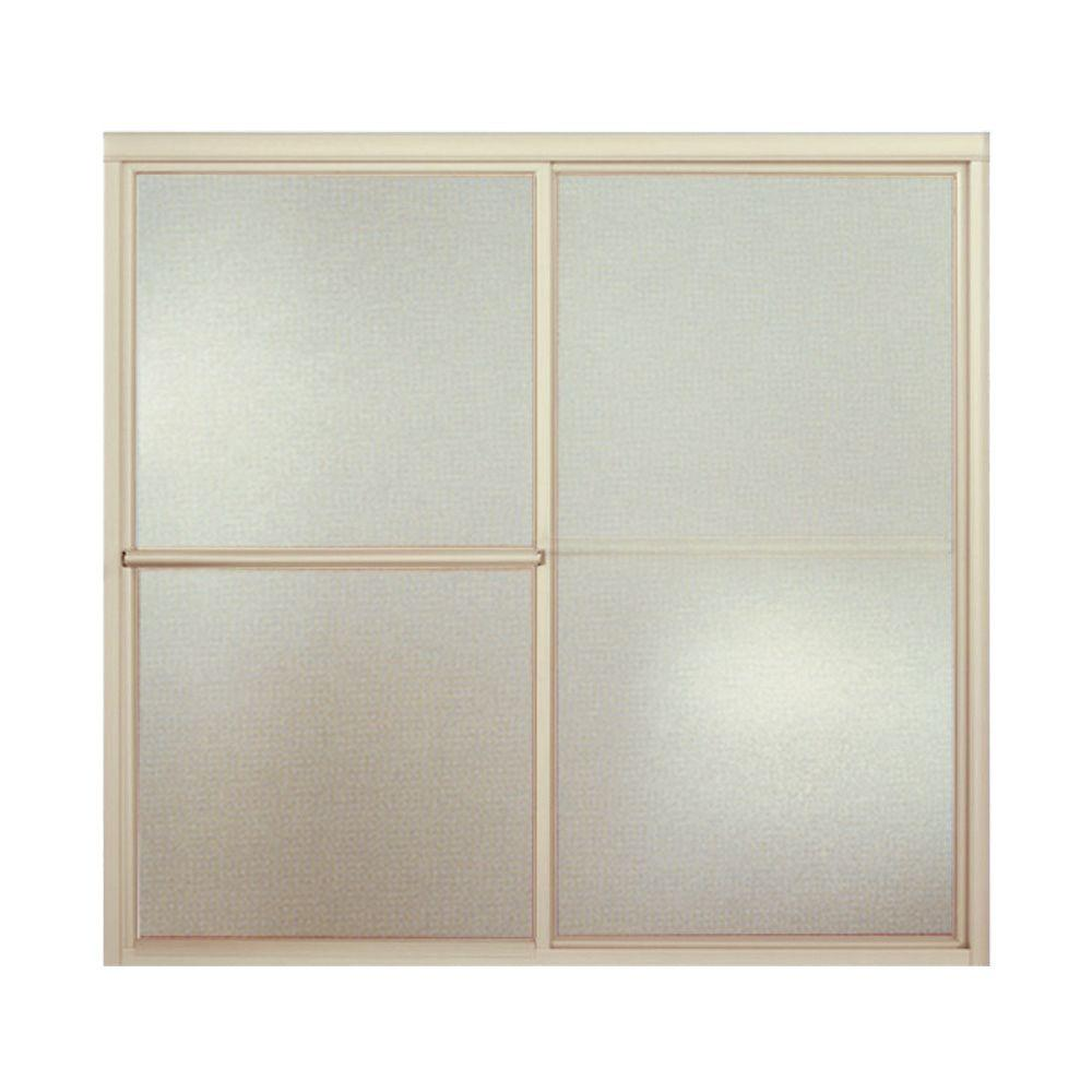 How To Install Sterling Bathtub Doors: STERLING Deluxe 59-3/8 In. X 56-1/4 In. Framed Sliding