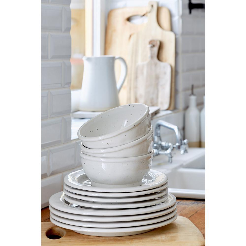 Fattoria White Dinner Plate (Set of 6)