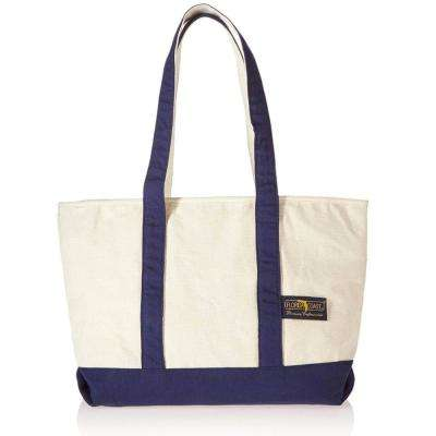 Large Canvas Navy Tote