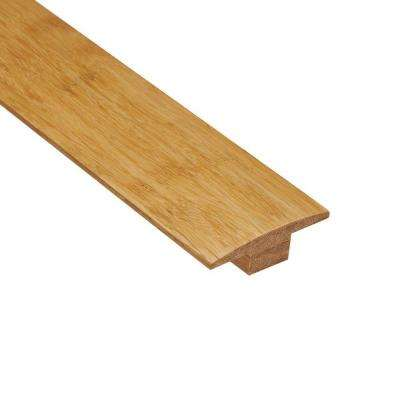 Strand Woven Natural 7/16 in. Thick x 2 in. Wide x 47 in. Length Bamboo T-Molding