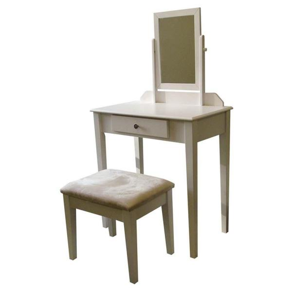 3-Piece White Vanity Set H205WH