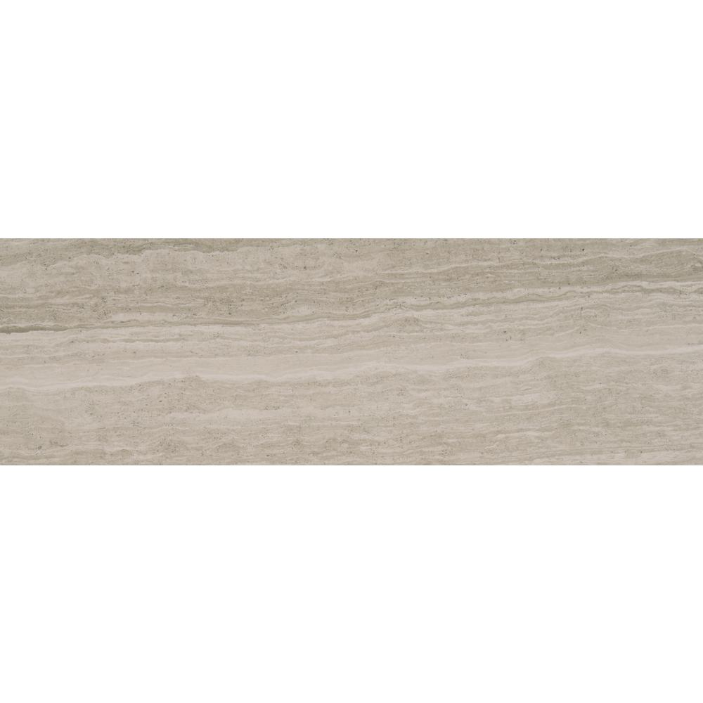 MSI White Oak 4 in. x 12 in. Honed and Beveled Marble Wall Tile (5 sq. ft. / case)