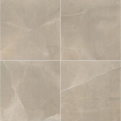 Madison Creme 24 in. x 24 in. Polished Porcelain Floor and Wall Tile (16 sq. ft. / case)
