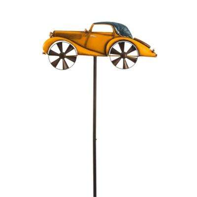 Yellow Transportation 56 in. Kinetic Wind Spinner