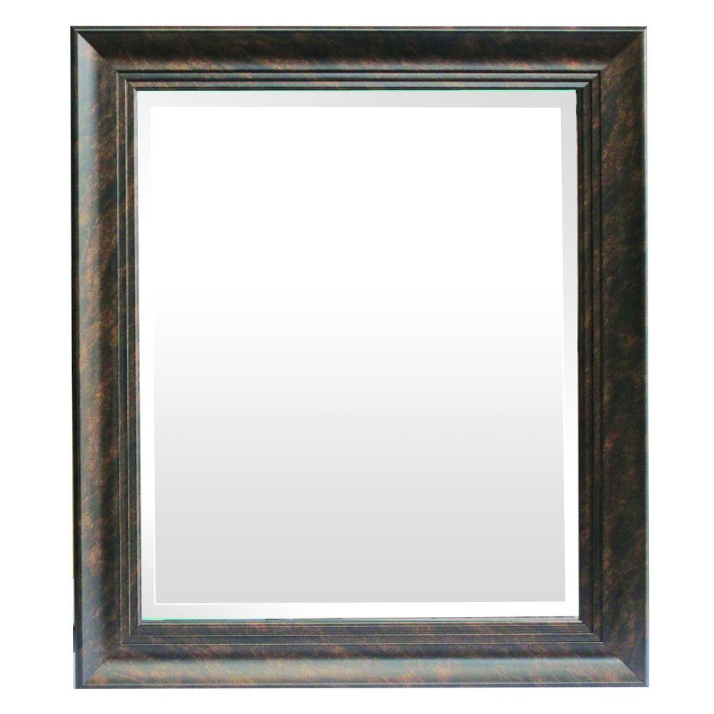 Yosemite home decor mirror frame in dark bronze color Home interiors mirrors