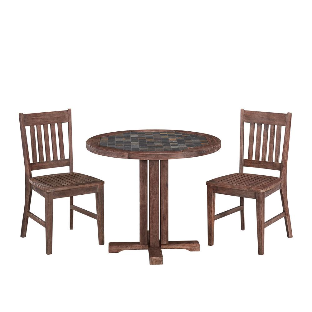 Home Styles Morocco 3-Piece Patio Dining Set