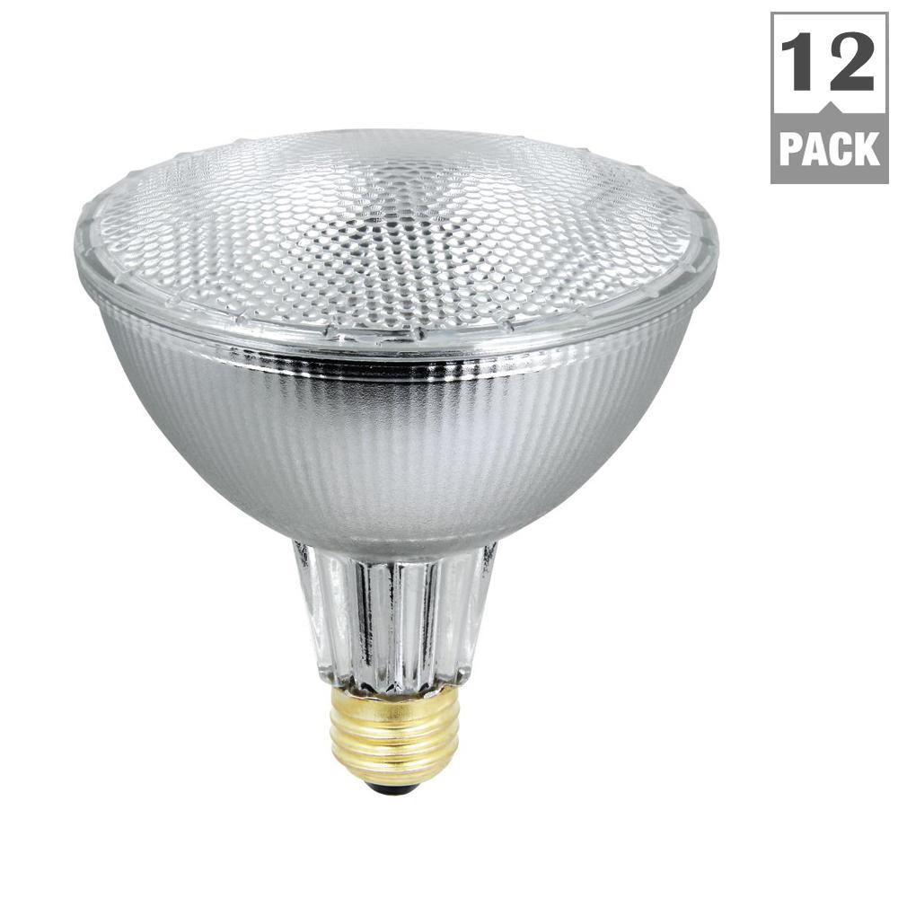 Feit Electric 56-Watt Warm White (3000K) PAR38 Dimmable Energy Saver ...
