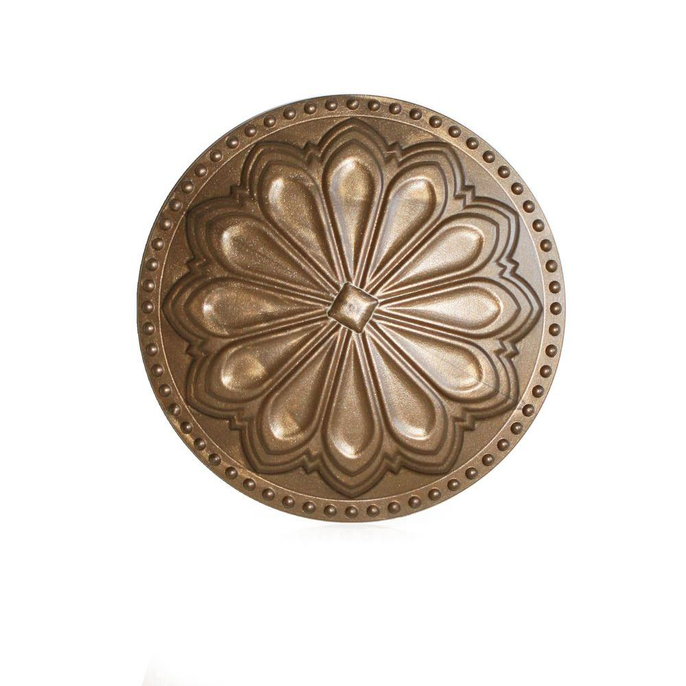 Hermosa Flat Beachnut Bronze 6 in. x 6 in. Cleanout Cover
