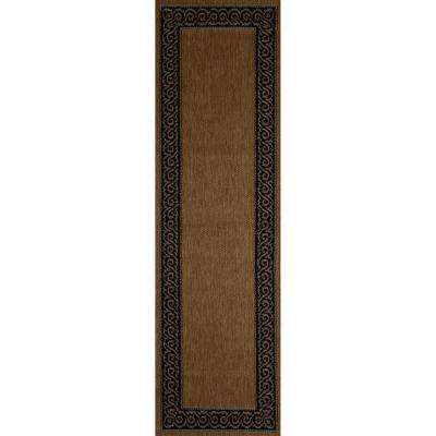 Plymouth Intention Natural Sisal 3 ft. x 9 ft. Indoor/Outdoor Runner Rug