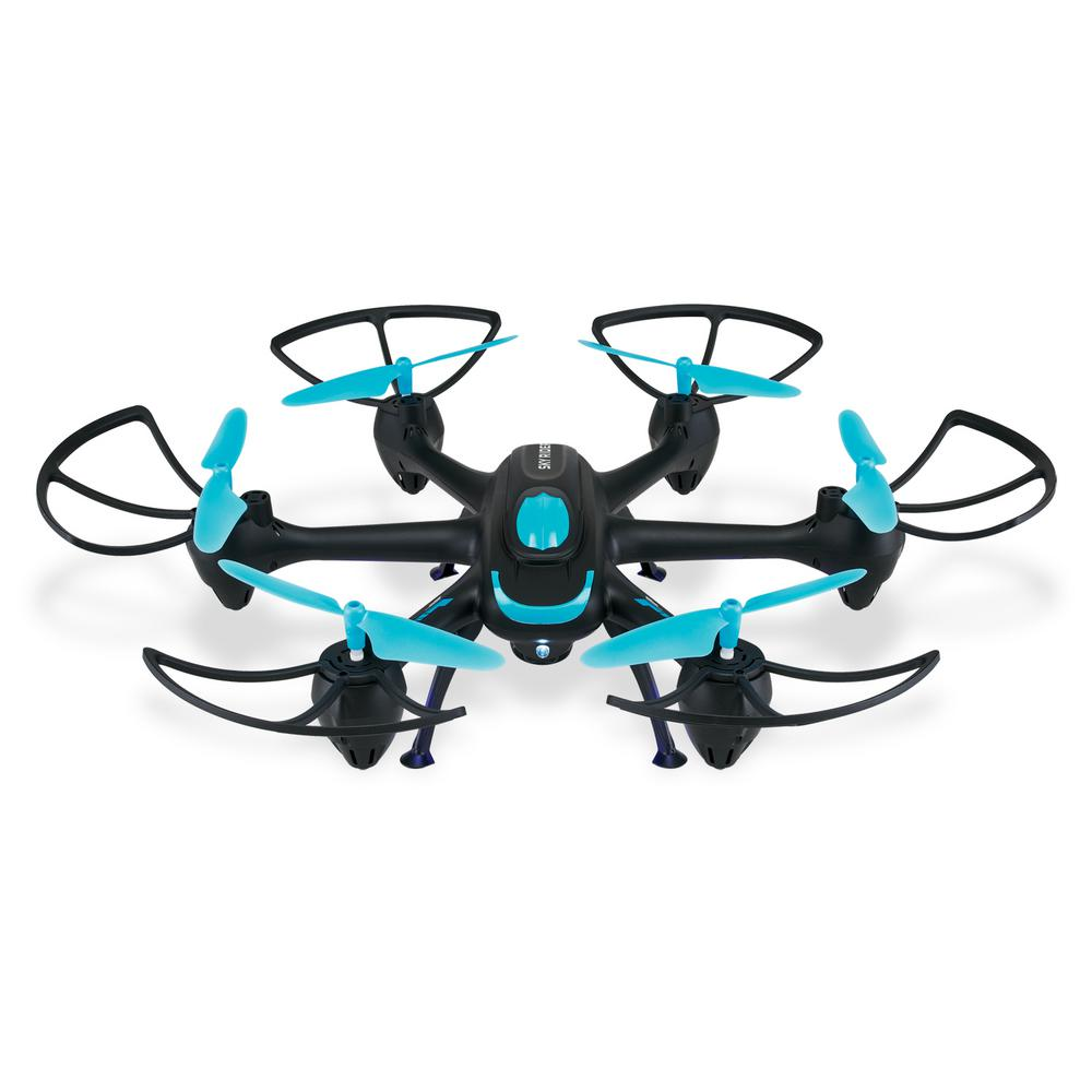Sky Rider Drone with Wi-Fi Camera and Voice Controls
