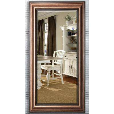 30.5 in. x 71 in. Canyon Bronze Beveled Oversized Full Body Mirror