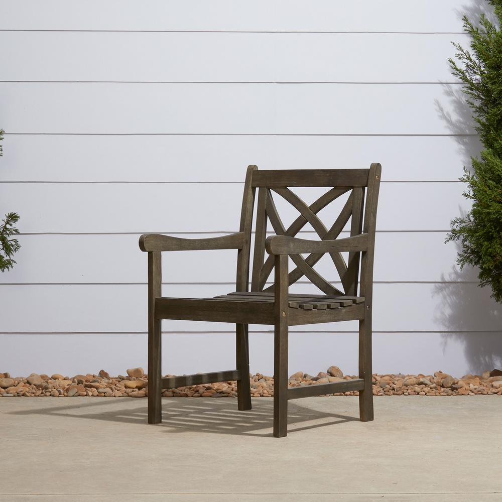 Vifah Renaissance Patio Dining Chair V1609 The Home Depot