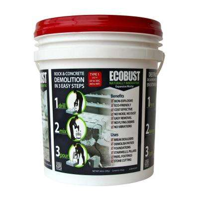 44Lb., Type 1 (68-95 degrees F) Non-combustive Demolition Agent for Concrete Cutting and Rock Breaking