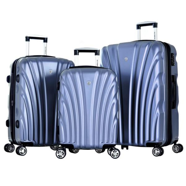 68301f240 Olympia USA Vortex 3-Piece Pet Expandable Hardcase Spinner Set with TSA Lock  and Name