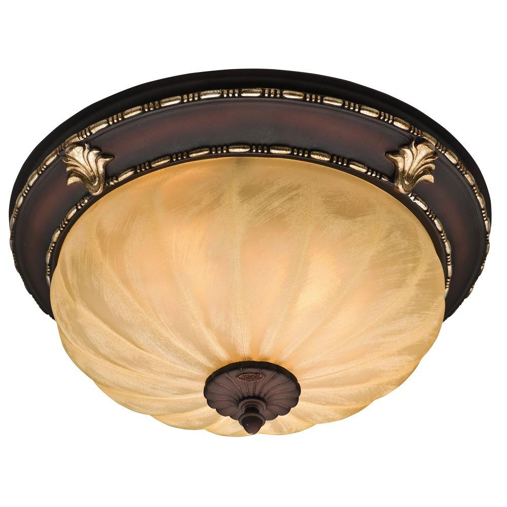 Hunter La Strada Decorative 80 CFM Ceiling Exhaust Bath Fan with Old World Charm and Hand Painted Finishes-DISCONTINUED