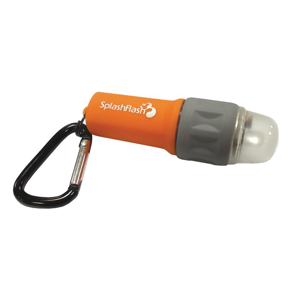 Small Waterproof Battery LED Flashlight