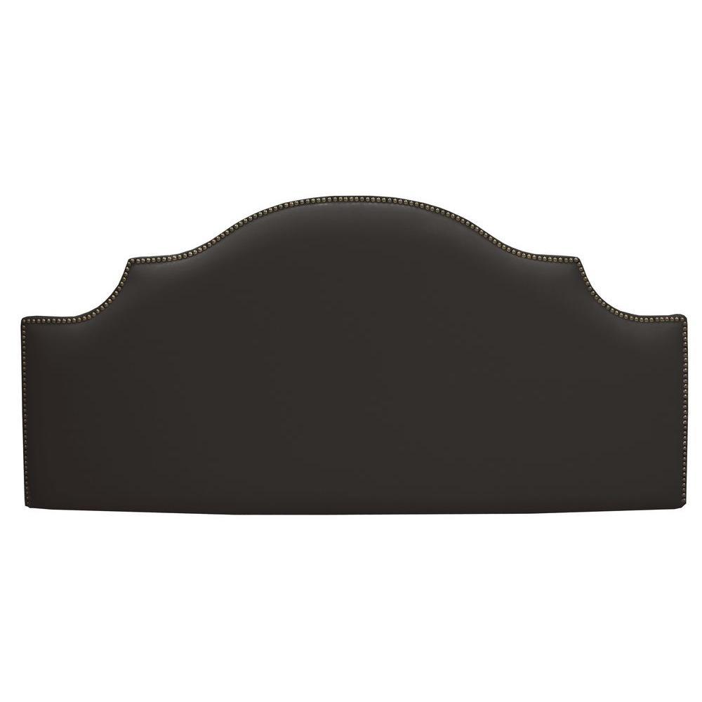 Home Decorators Collection Verona Black Twin Headboard