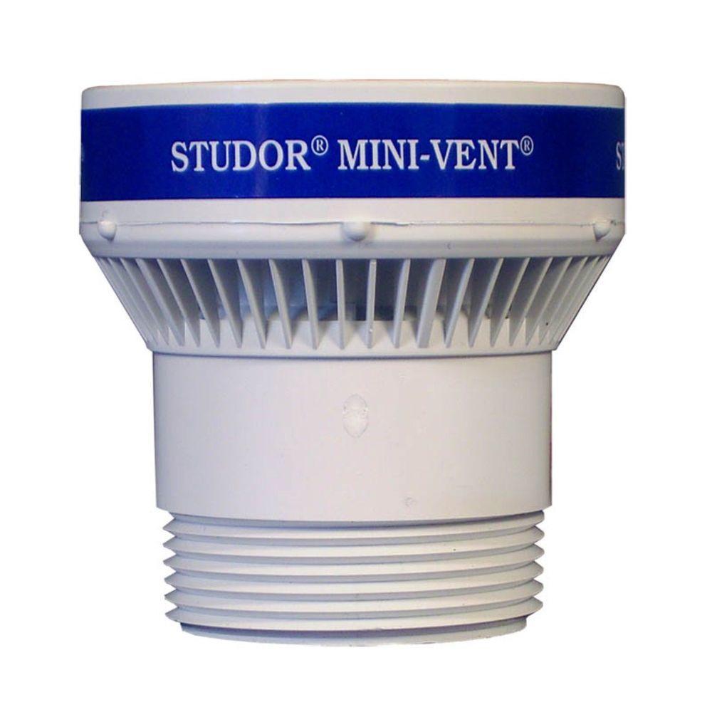 Studor 1 1 2 In Or 2 In Pvc Mini Vent Adapter 20341