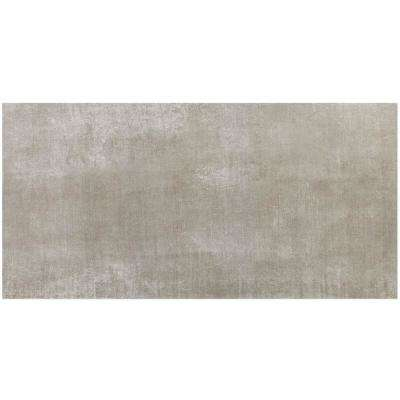 Essential Cement Gray 12 in. x 24 in. 10mm Matte Porcelain Floor and Wall Tile (8-piece 15.49 sq.ft. / box)