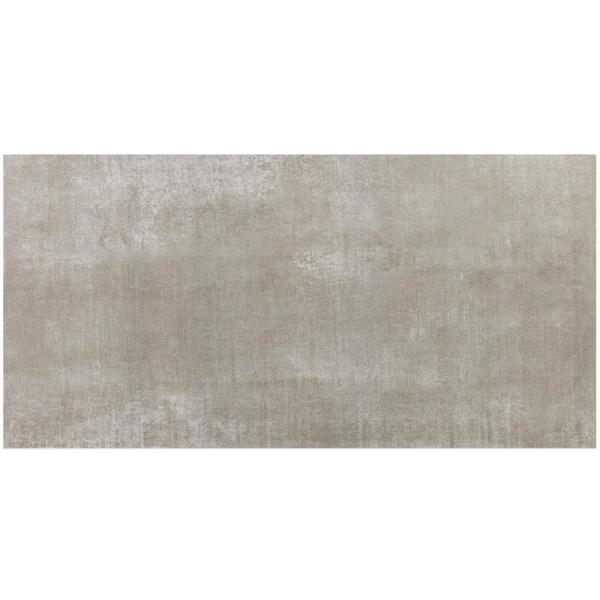 Essential Cement Gray 12 in. x 24 in. Matte Porcelain Floor and Wall Tile (15.49 sq.ft. / case)