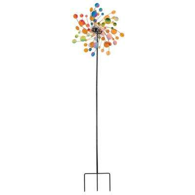 19 in. Kinetic Stake -Confetti
