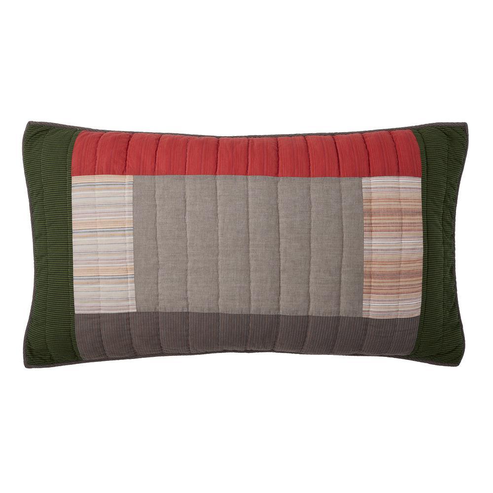 Buchanan Yarn Dyed Cotton Patchwork King Sham