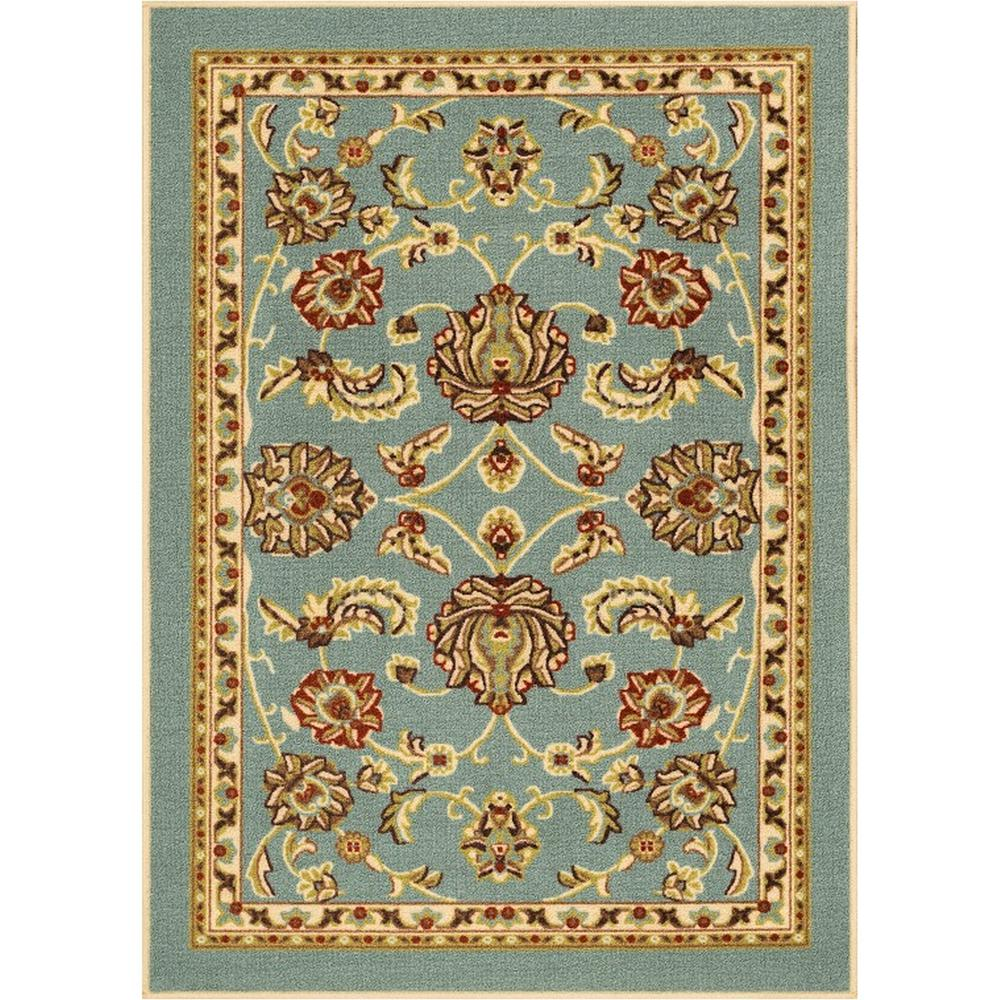 Well Woven Persa Tabriz 7 Ft 10 In X 9 Ft 10 In