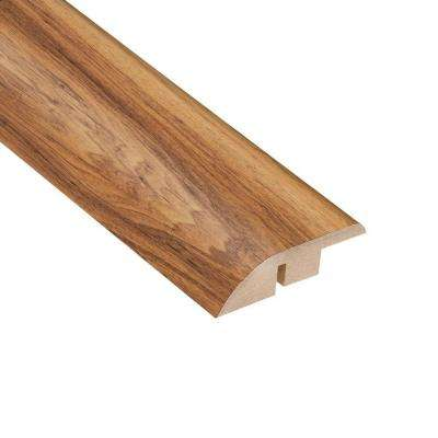 High Gloss Paso Robles Pecan 1/2 in. Thick x 1-3/4 in. Wide x 94 in. Length Laminate Hard Surface Reducer Molding