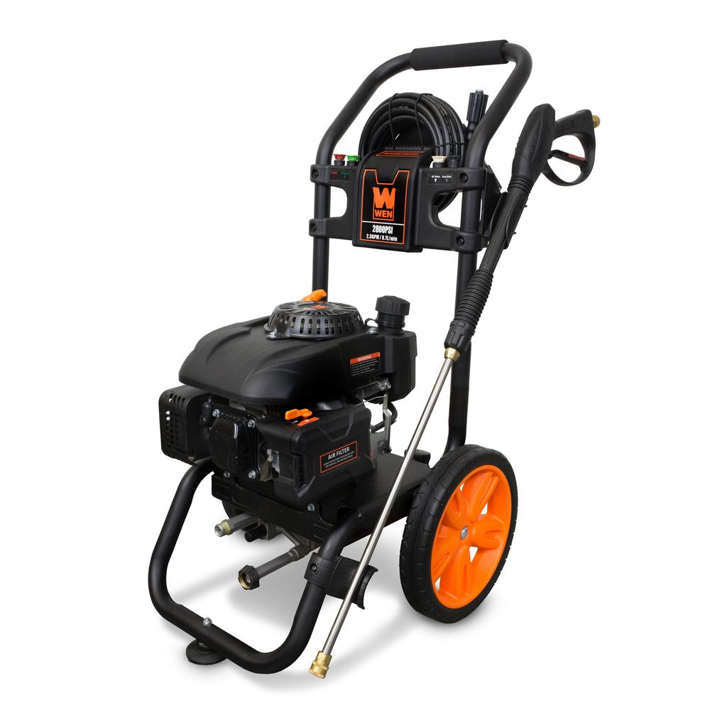 Wen 2800 Psi 2 3 Gpm Gas Pressure Washer 173 Cc