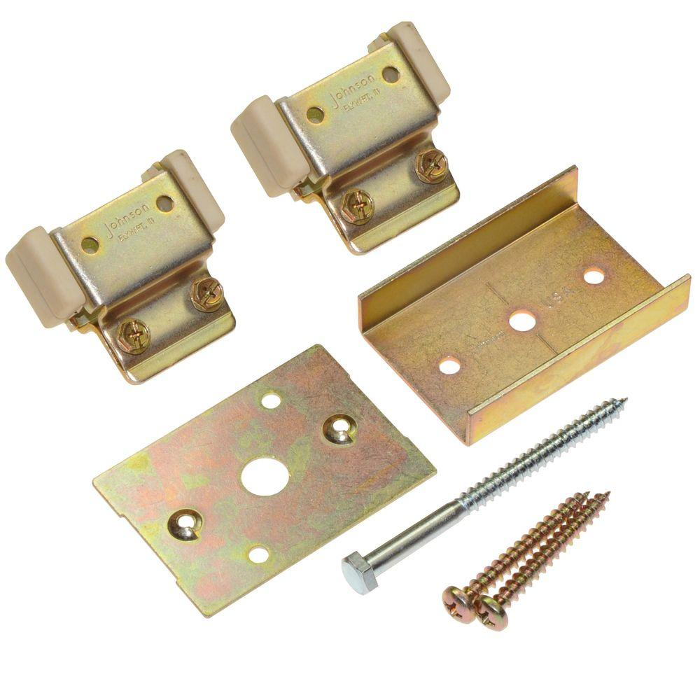 Hardware For Double Converging Pocket Doors : Johnson hardware series converging door kit for
