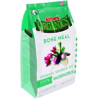 Organic 4 lb. Granular Bone Meal Fertilizer