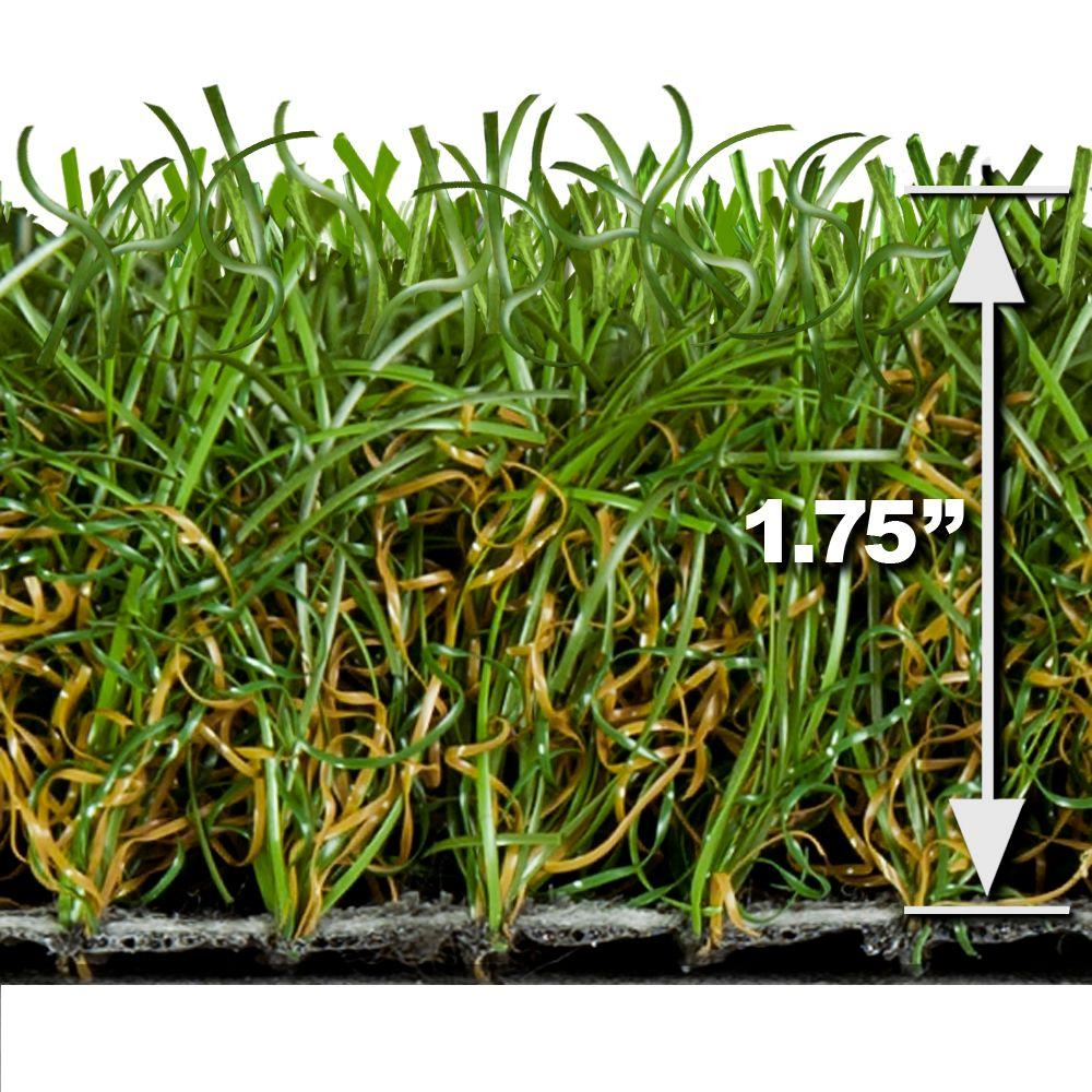 Turf Evolutions Superb Indoor Outdoor Landscape Artificial Synthetic Lawn Turf Grass Carpet, 5 ft x 10 ft.-DISCONTINUED