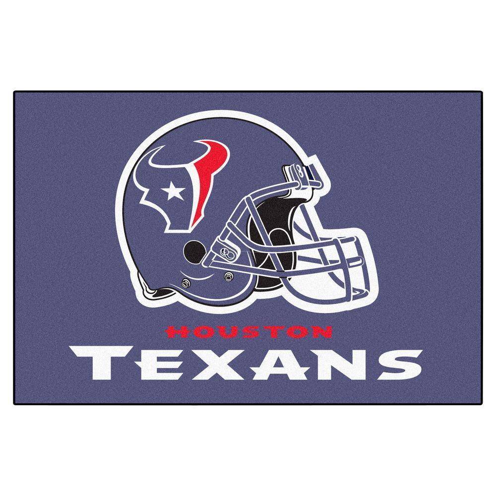 NFL Houston Texans 19 in. x 30 in. Starter Mat Indoor Accent Rug